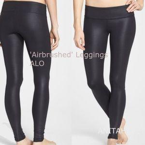 ALO Airbrushed Leggings Black Small